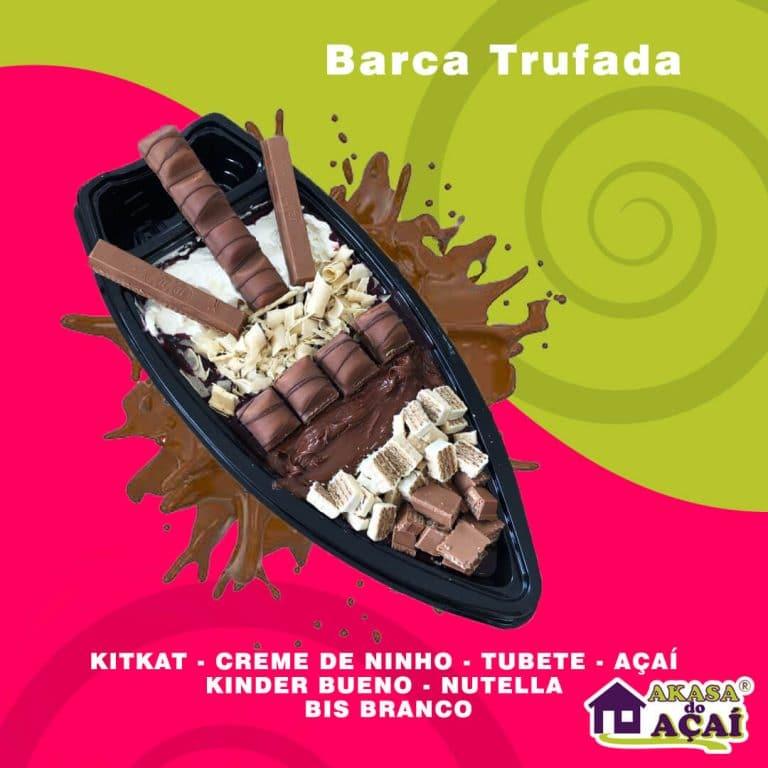 Barca Trufada - Akasa do Açaí