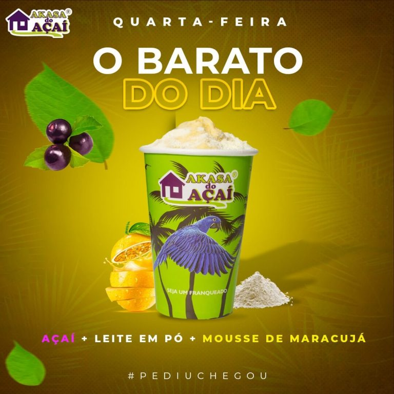 3 - Barato do Dia - Quarta - Akasa do Açaí