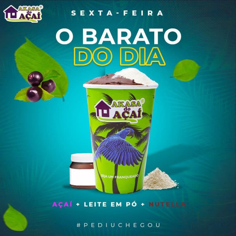 5 - Barato do Dia - Sexta - Akasa do Açaí